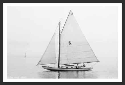 Vintage Sailing and Sailboats Restoration art prints -1899