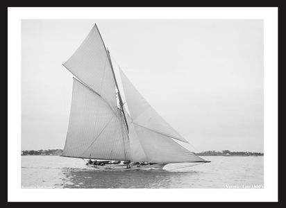 Vintage Sailing - Vintage Sailboats Late 1800's