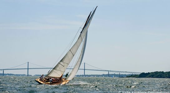 Chips - Starling Burgess Design Racing at the NYYC Classic Regatta in Newport, RI