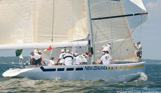 12 Metre New Zealand Racing in Newport, RI