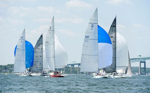 12 Metre Class at the NYYC 161st Annual Regatta - Newport, RI
