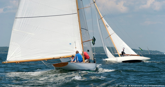 Madcap and Cherokee Racing at the NYYC Classic Regatta in Newport, RI