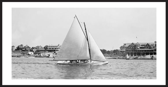 Vintage Sailing and Sailboats in Marblehead, MA