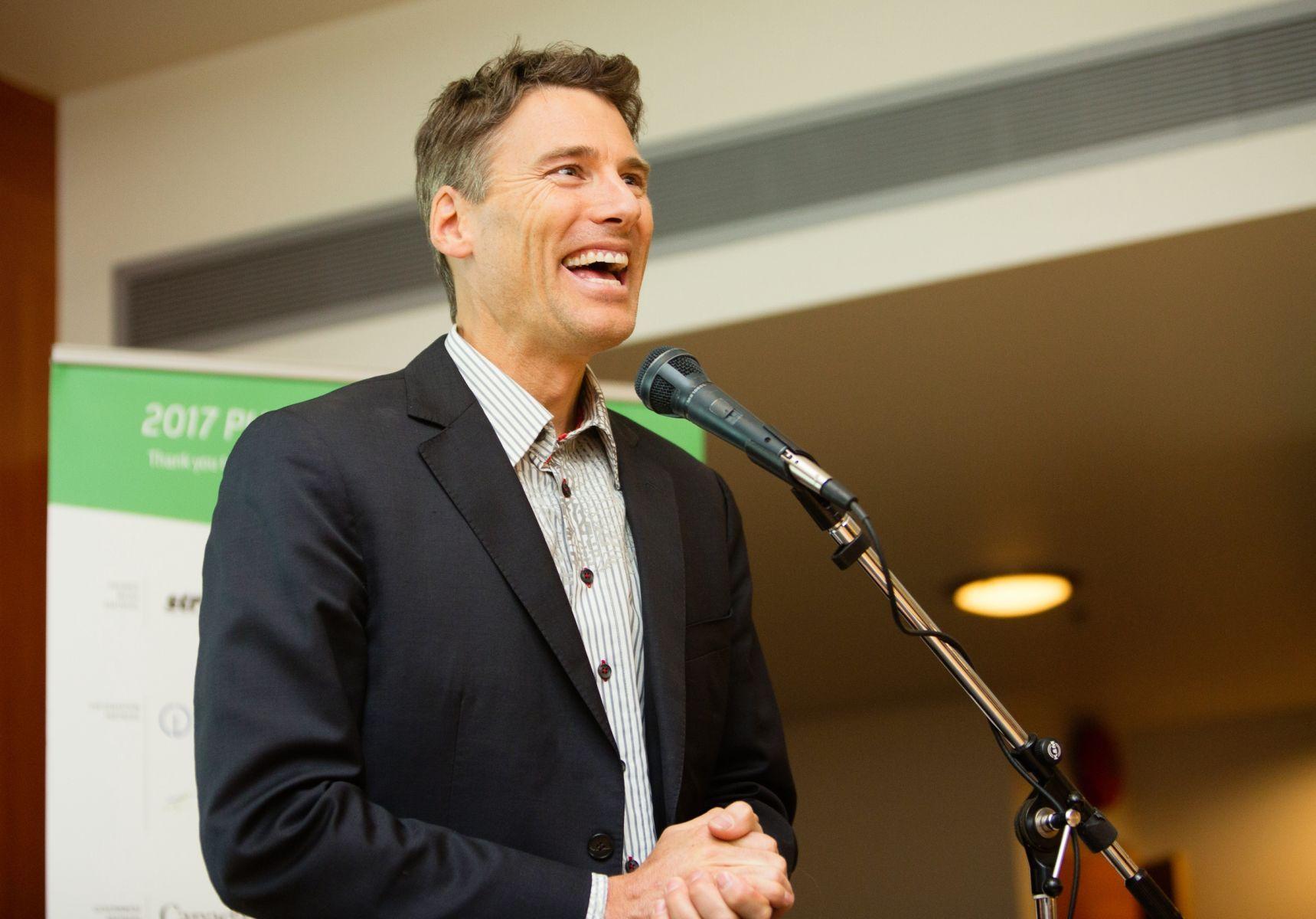 Vancouver Mayor Gregor Robertson, 2017