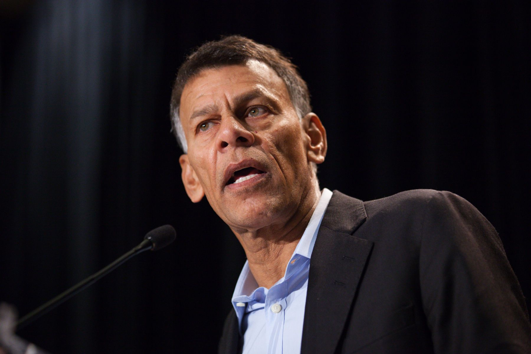 Hassan Yussuff, Canadian labour leader and president of the Canadian Labour Congress.