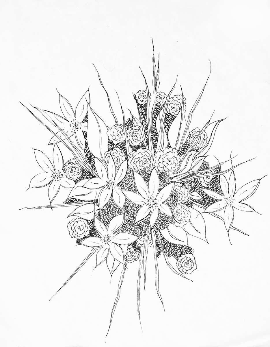 Texture Bouquet