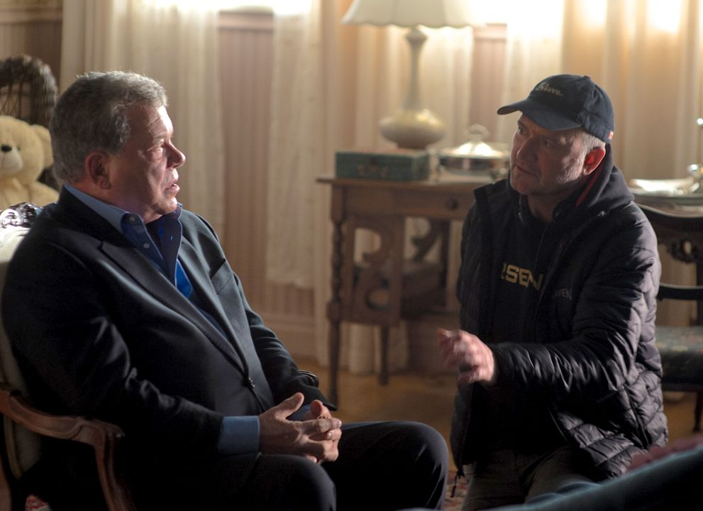 With Bill Shatner