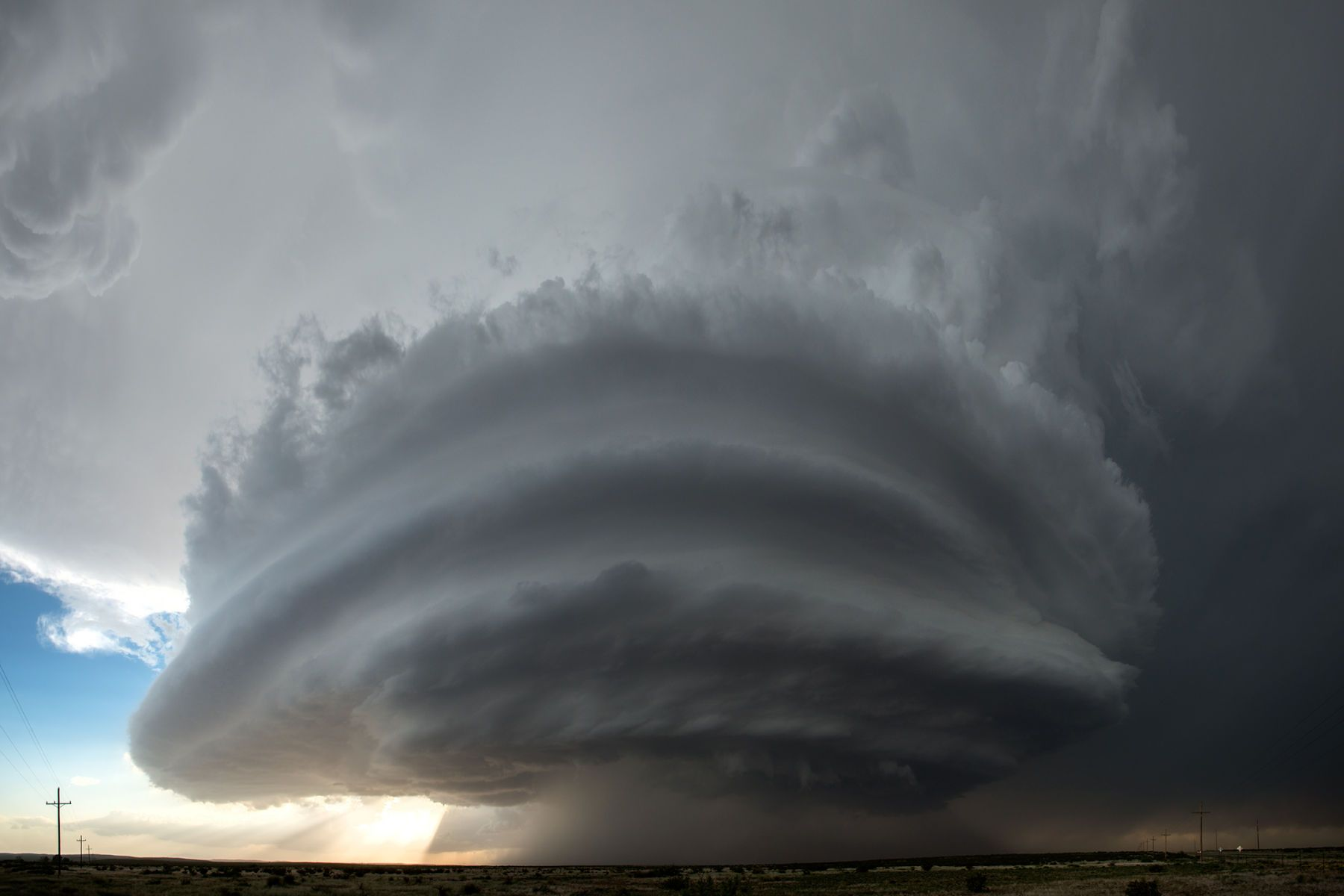 June 2014 - Rosellwell, New Mexico Supercell