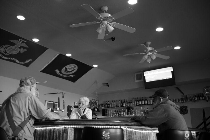 VFW bar in Beatty NV
