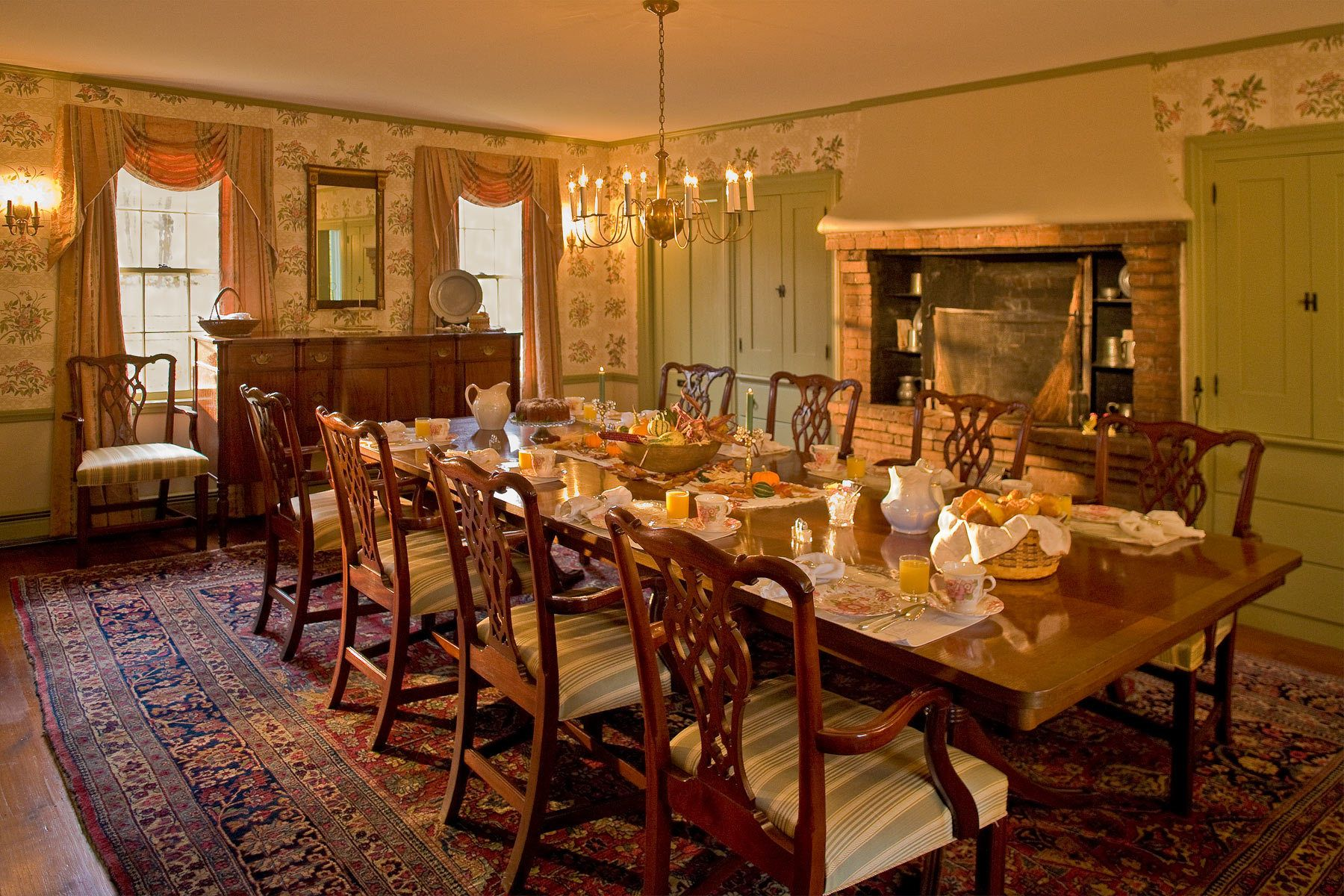 Dinning Room at The Inn at Valley Farms