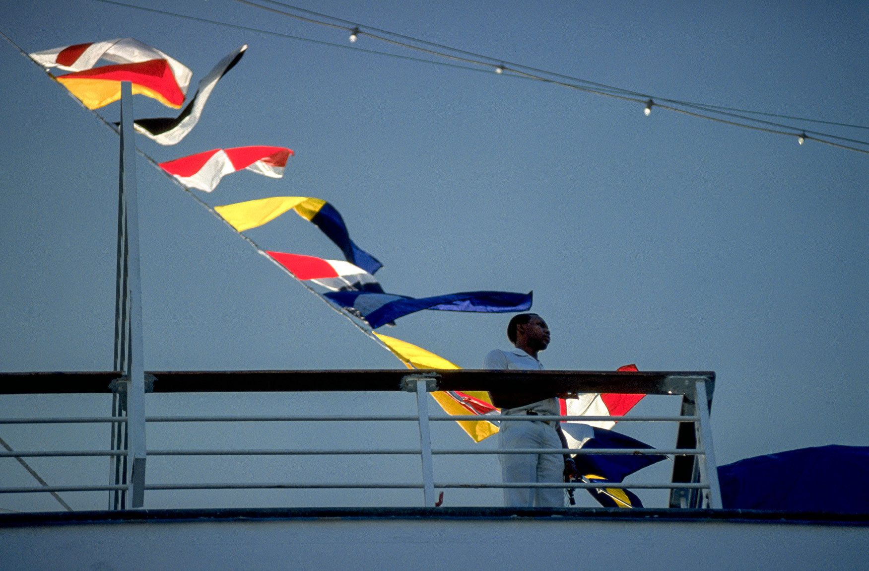 Cruise Ship Flags