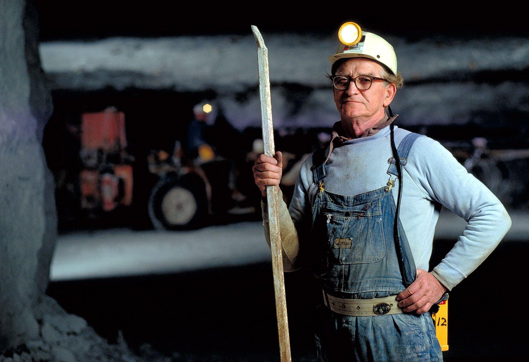 Gypsum Miner