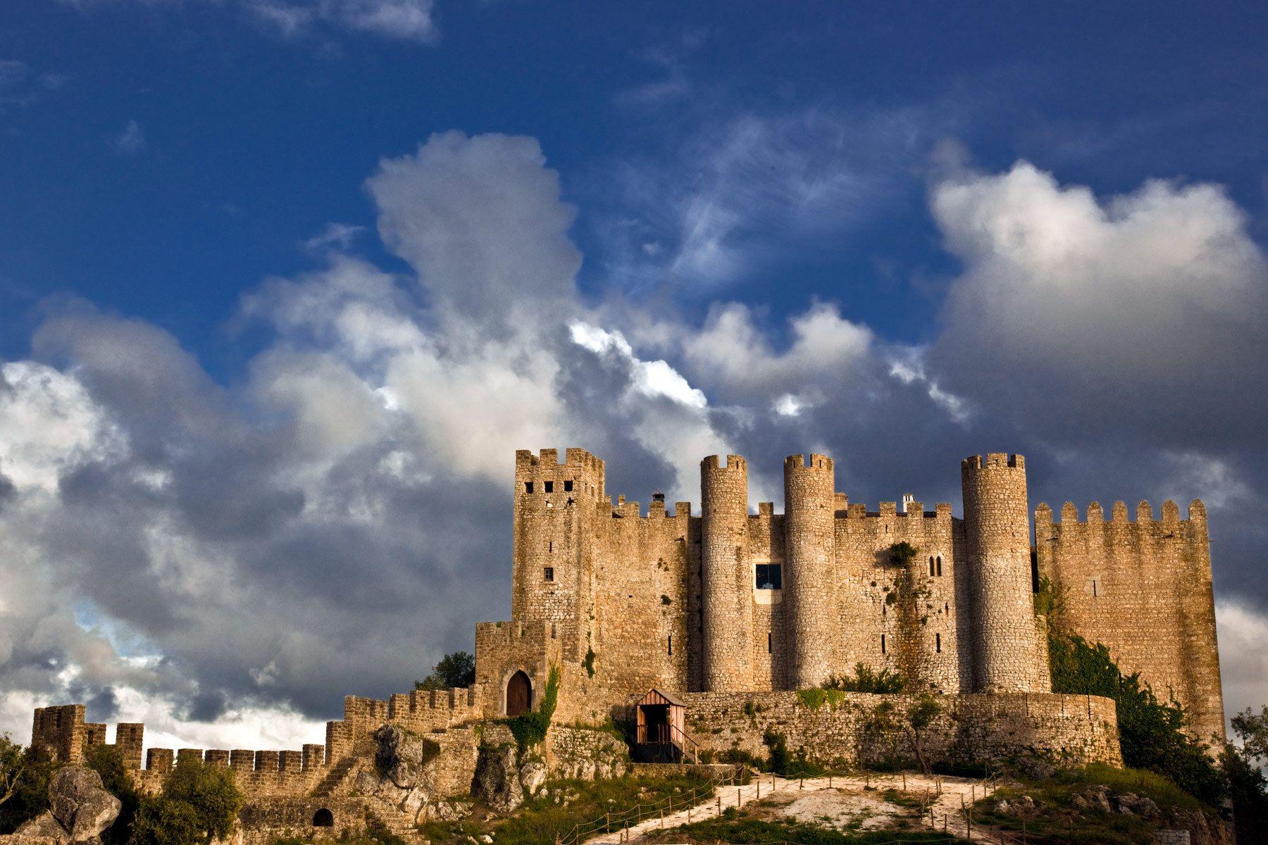Obidos Portugal Castel