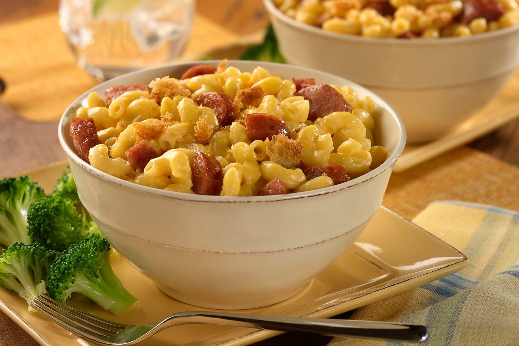 Sausage mac & cheese