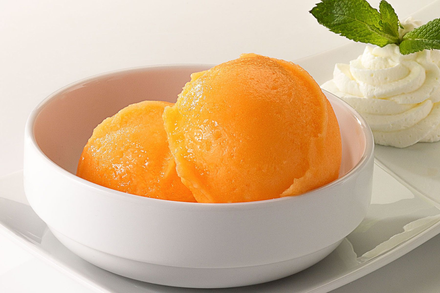 Orange sorbetto