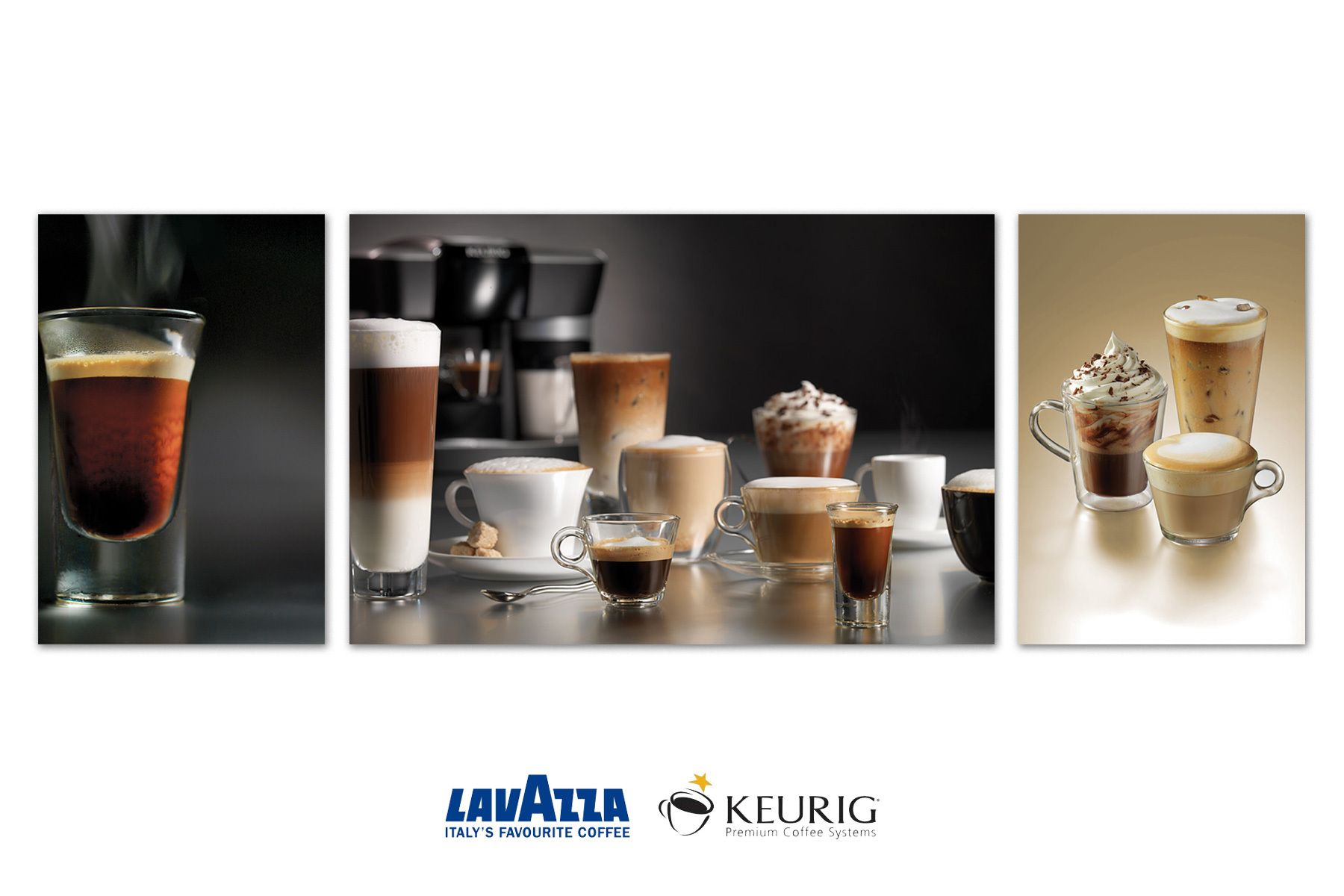 Lavazza and Keurig