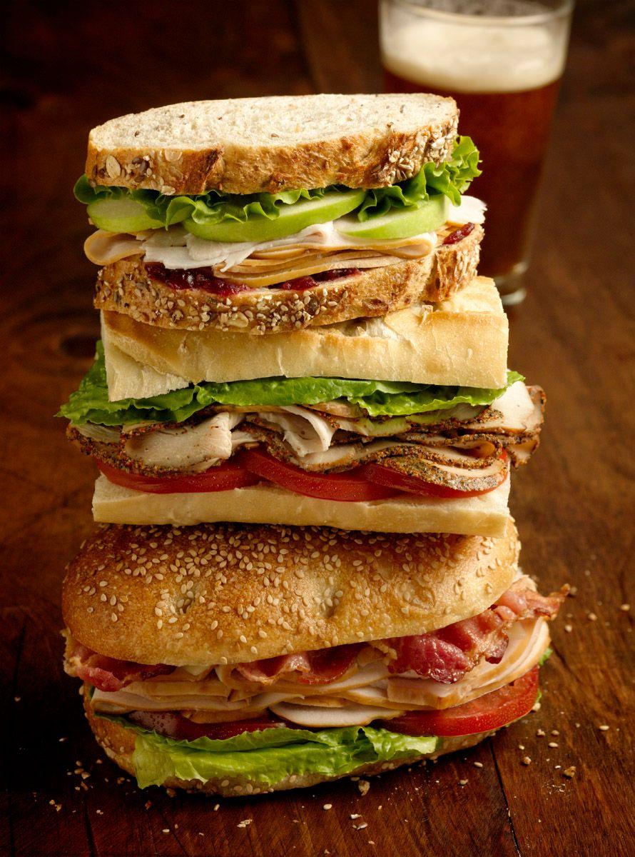 cold cut sandwiches