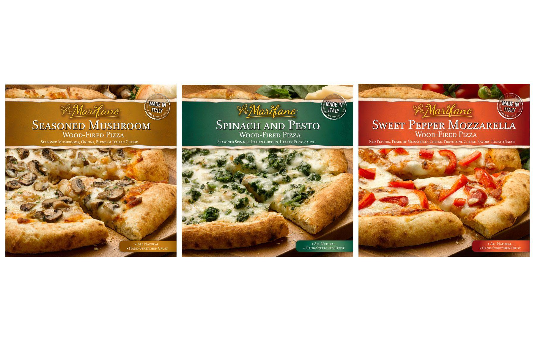 Marifano pizza packaging