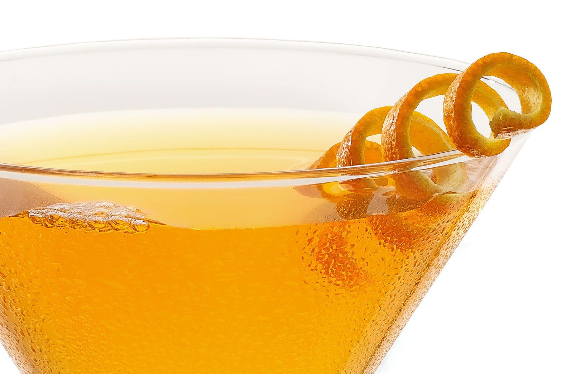 Orange drop martini