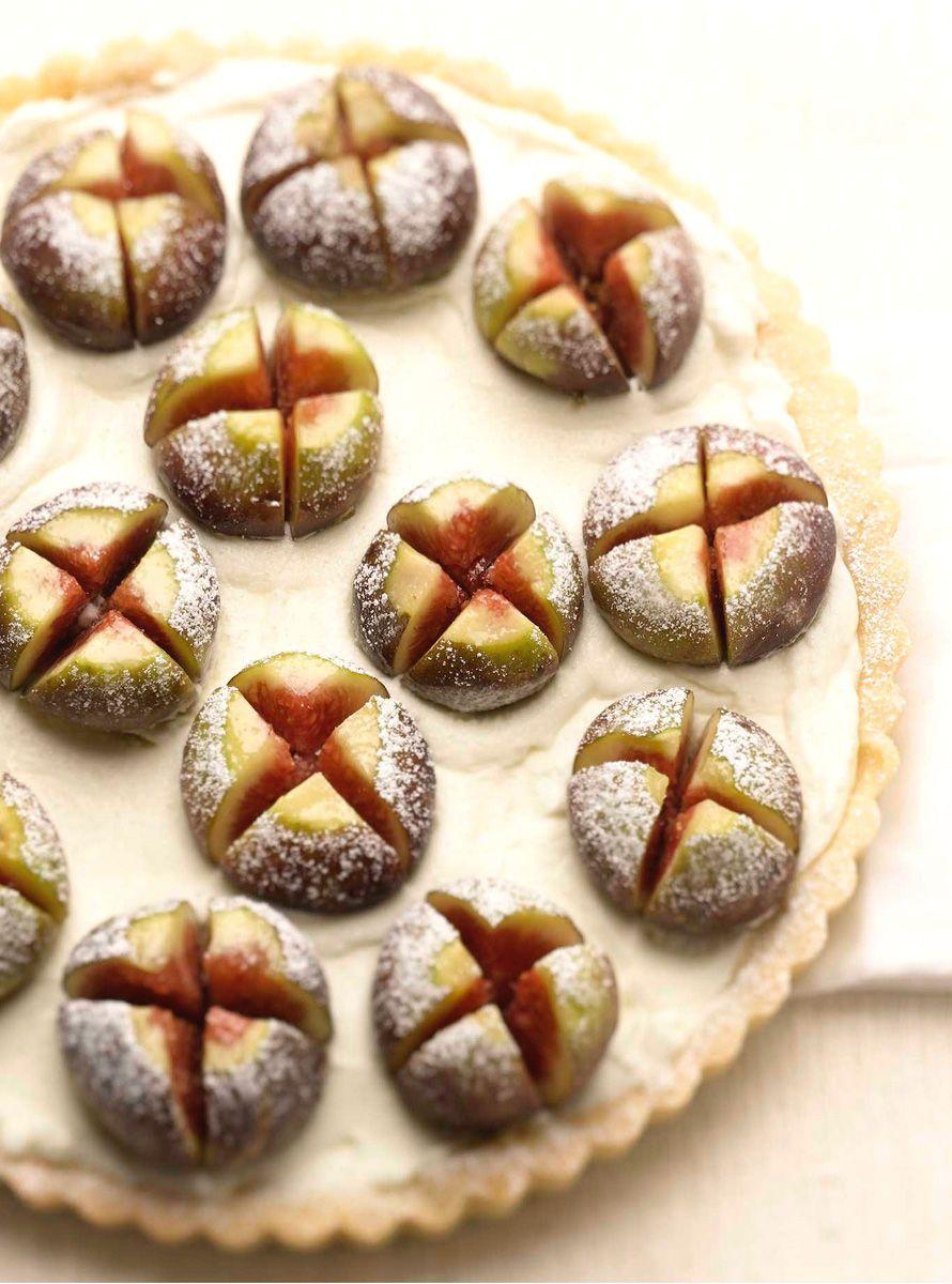 Fig & Cream Tart