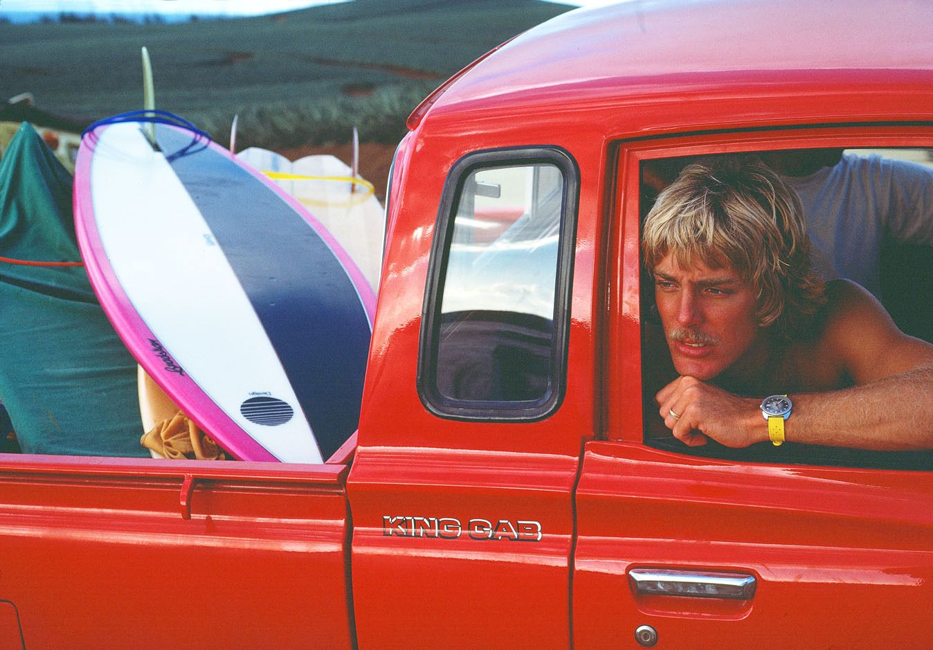 """BEAVER"" MASSEFELLAR, HONOLUA BAY, MAUI, HI. 1978."