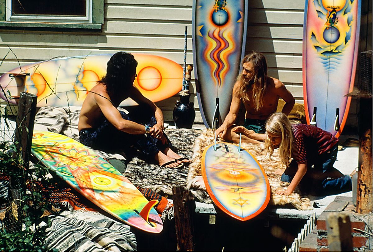 BROTHERHOOD OF ETERNAL LOVE, CANYON ACRES, LAGUNA CANYON. 1971