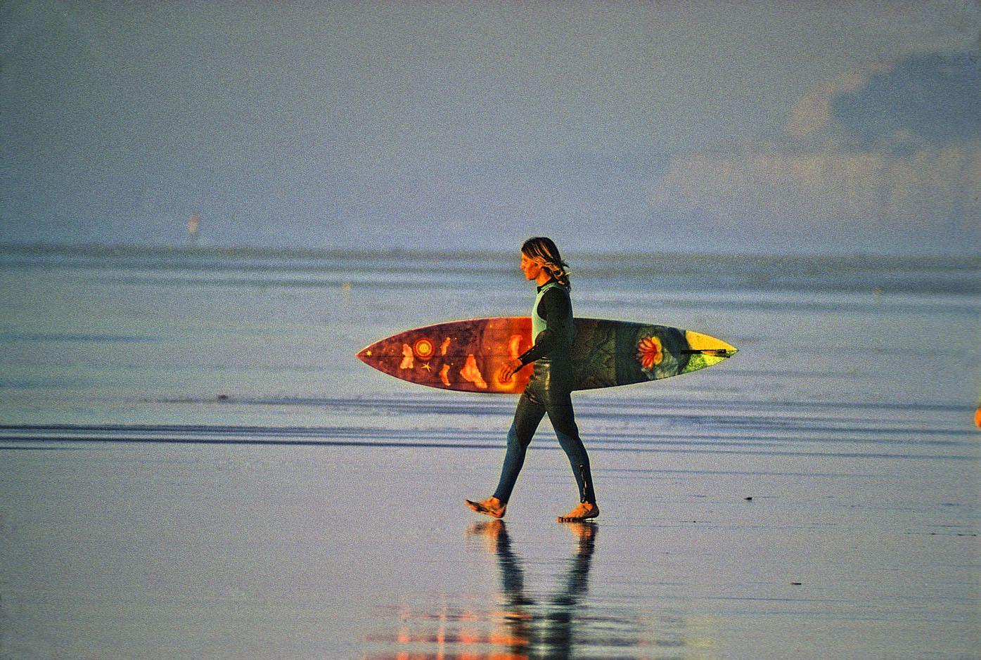 JOHN LOWREY , BLACK'S BEACH, LA JOLLA, CALIF. 1971.