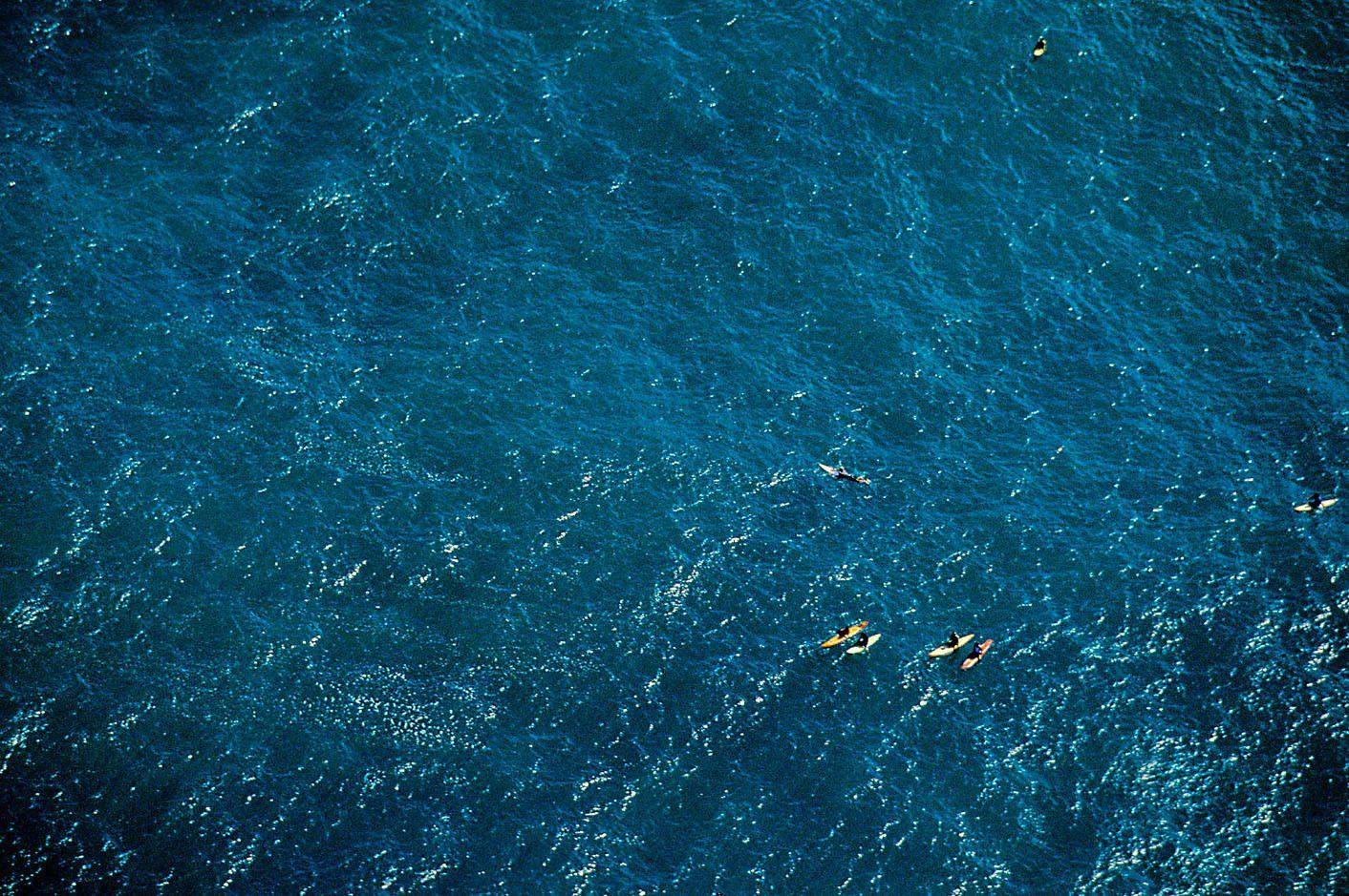 WAIMEA BAY, OAHU, HAWAII.