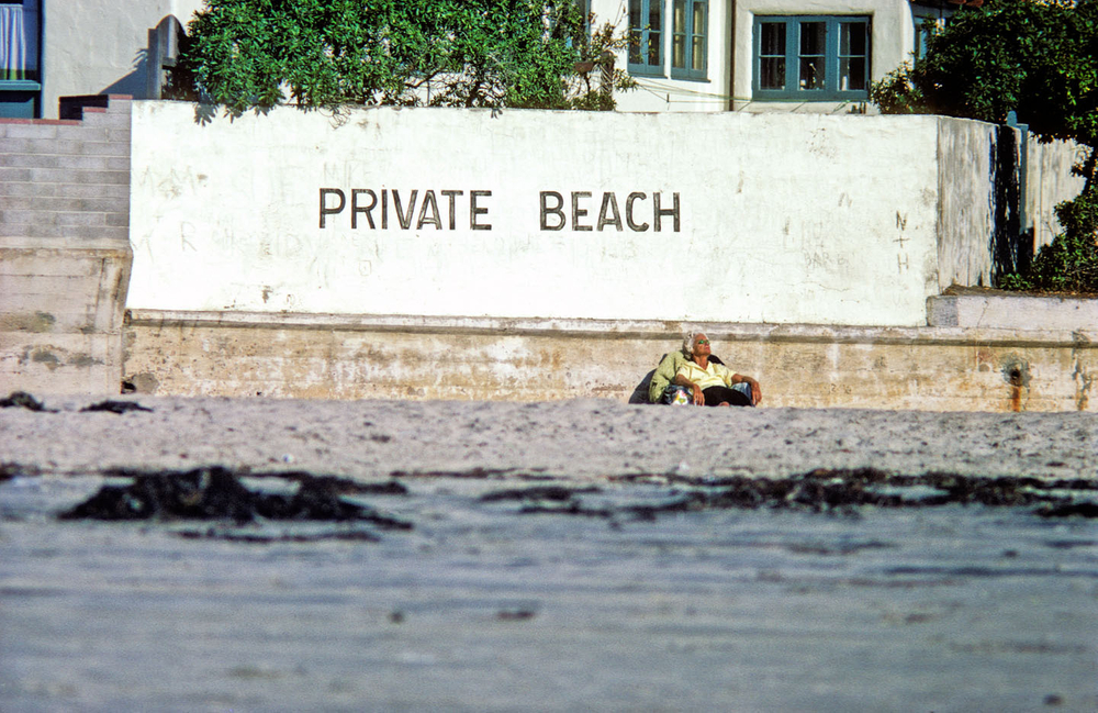 1970, La Jolla Shores, Calif . The White house.