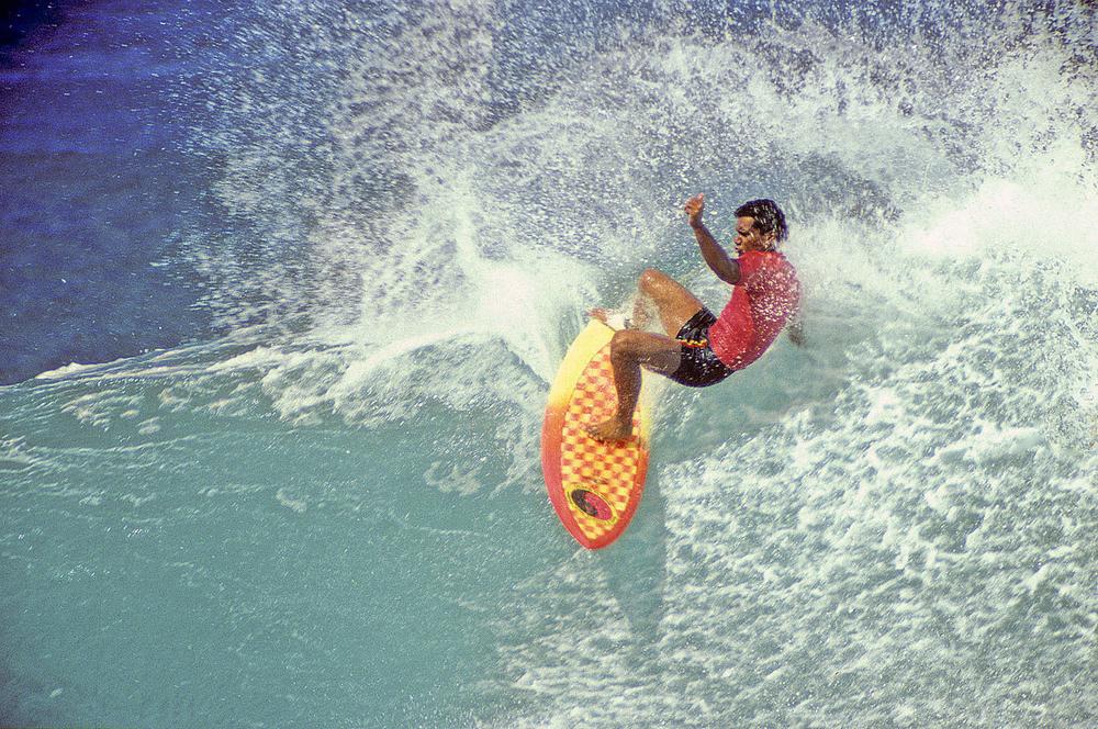DANE KEALOHA, OFF THE WALL, OAHU, HI. 1988