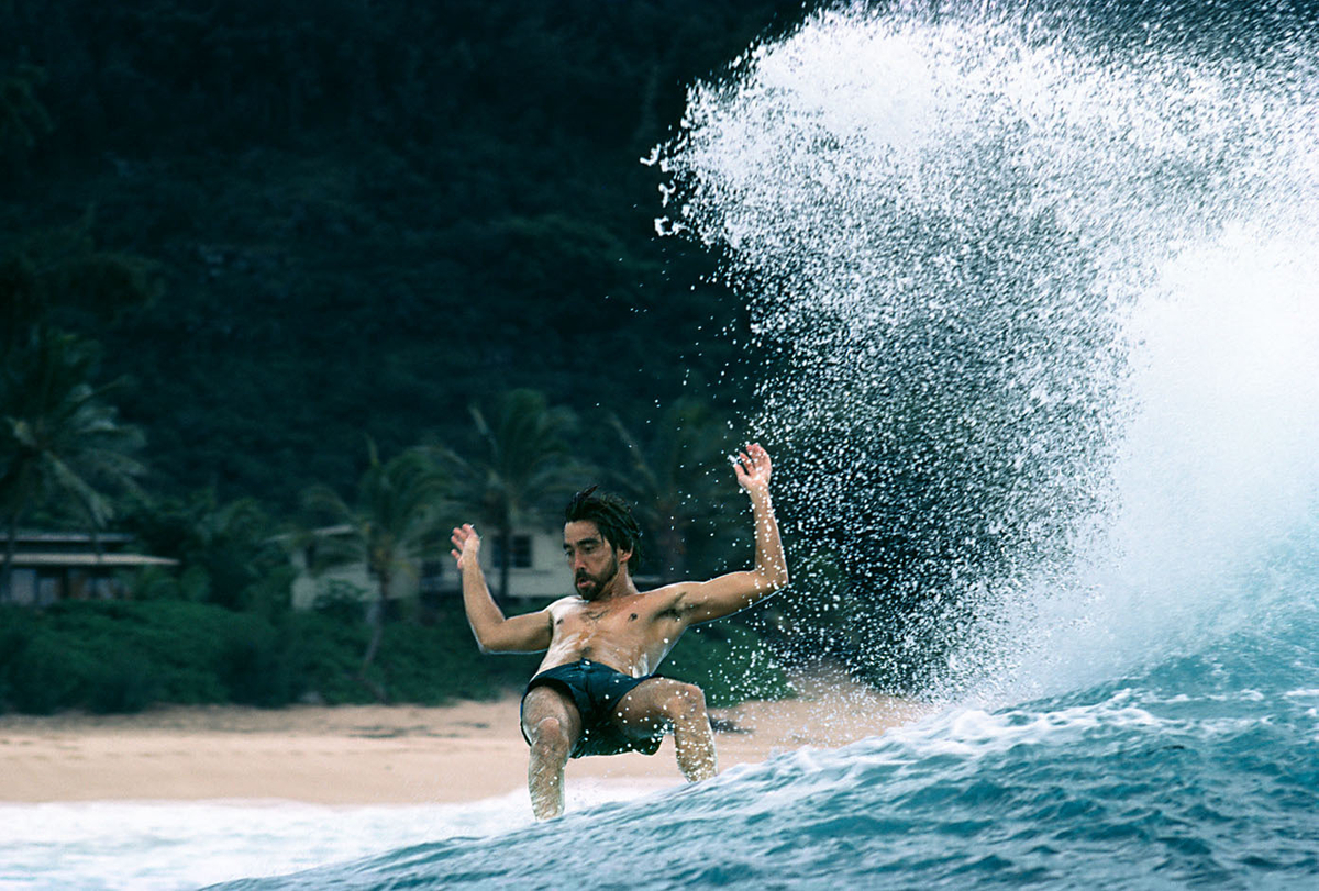 GERRY LOPEZ, MID-REIGN AT PIPELINE 1980
