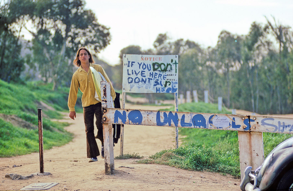 SUNSET CLIFFS, PONT LOMA, SAN DIEGO, CALIF. 1972