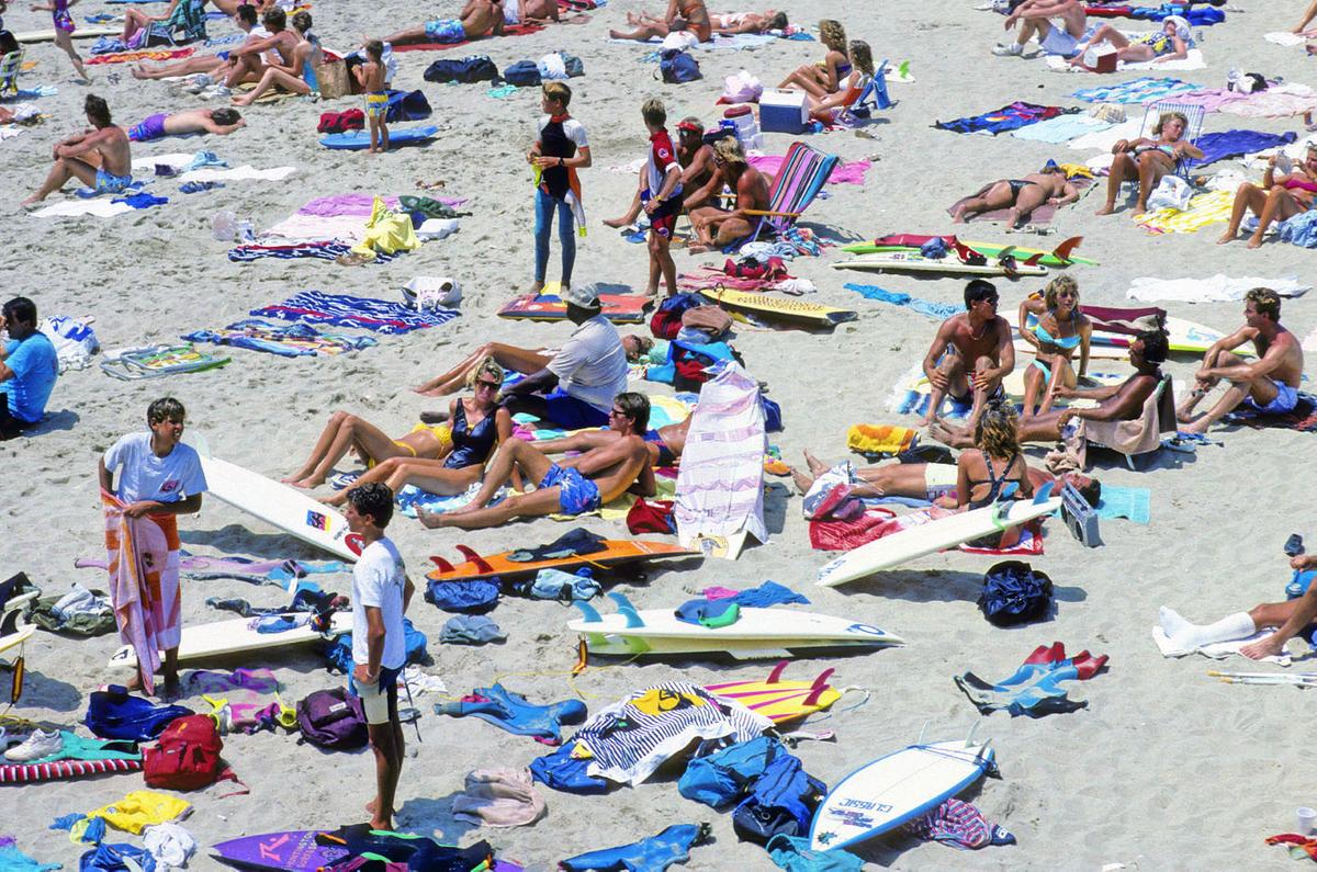 WEST OF THE 5.  HUNITNGTON BEACH , CA, 1984