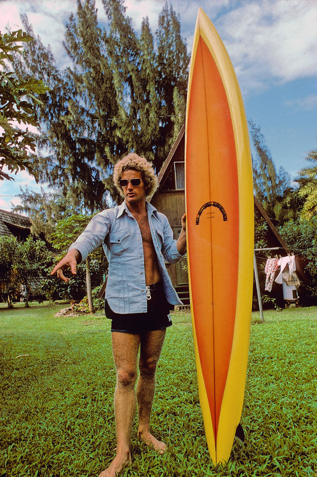 TERRY FITZGERALD, ROCKY POINT OAHU, HI. 1974.