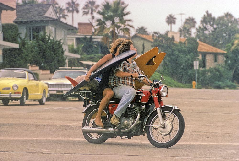 BIG ROCK, LA JOLLA, CALIF. 1972.