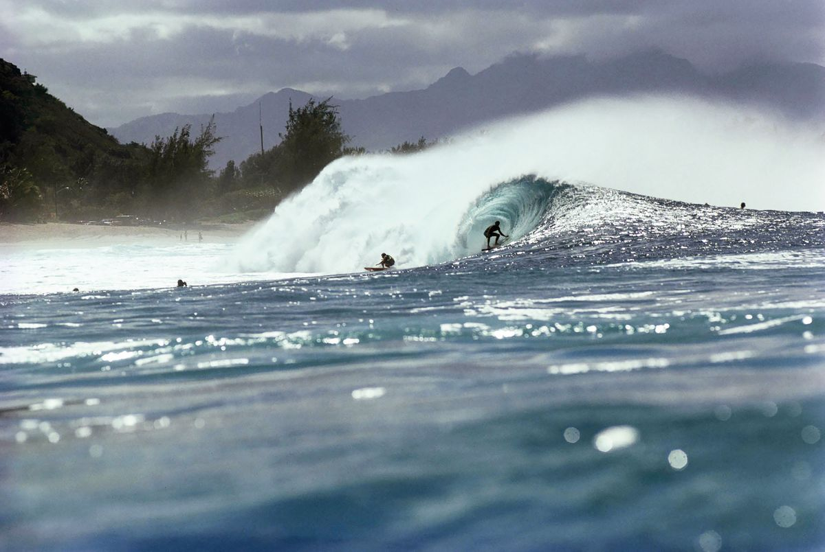 1976 PIPELINE AFTERNOON SPARKLE , OAHU, HI.
