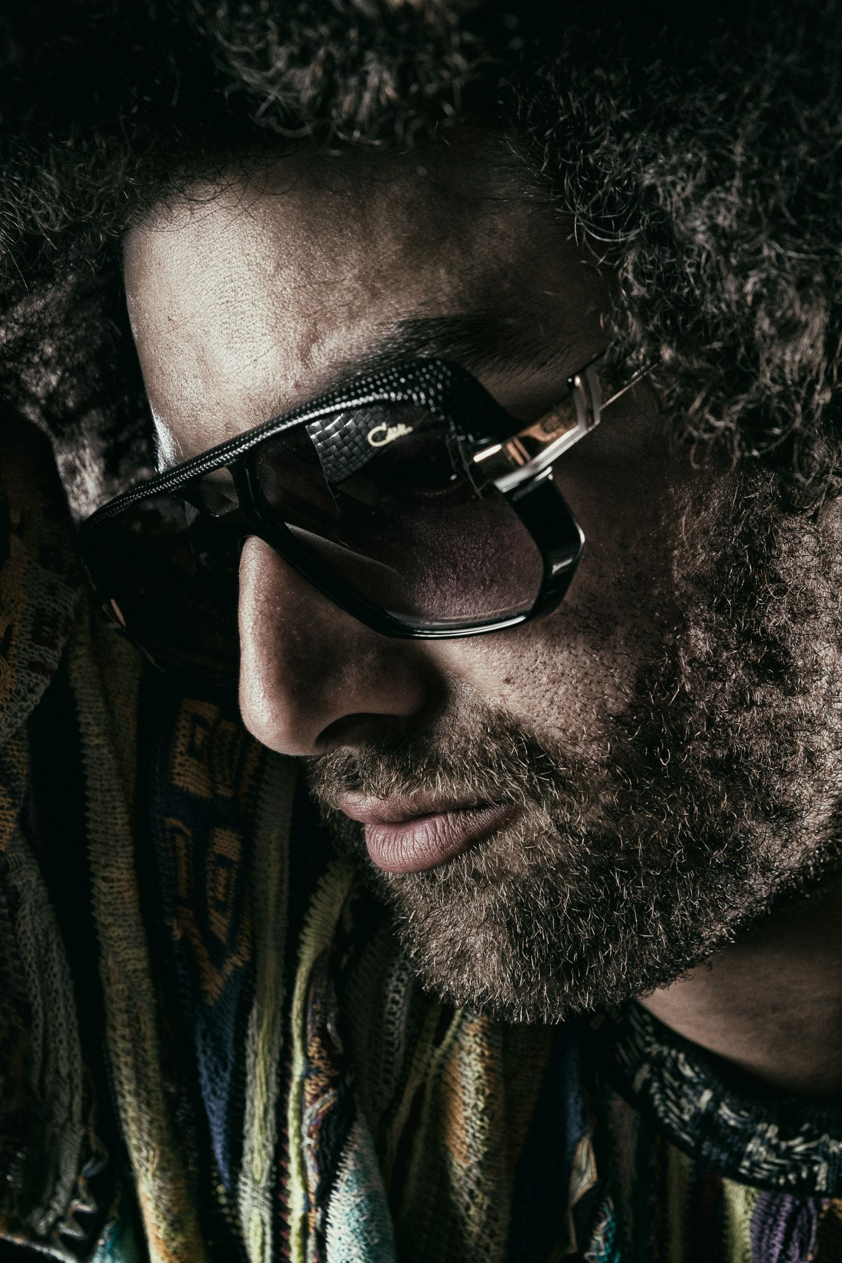 Campagne Cazal Eyewear - Rilan & the Bombardiers