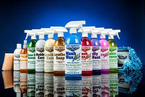 Aero Cosmetics Product Lineup