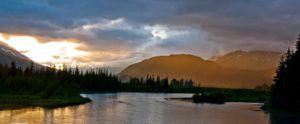 Alaska Summer Rain - Seward,Alaska
