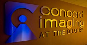 Lobby Signage - Concord Radiology Imaging