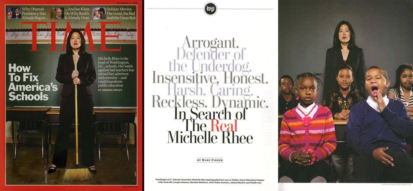 Michelle Rhee, Washington, DC