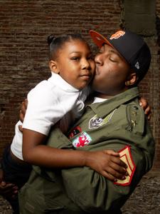 Jacka with daughter Koran, Pittsburgh, CA