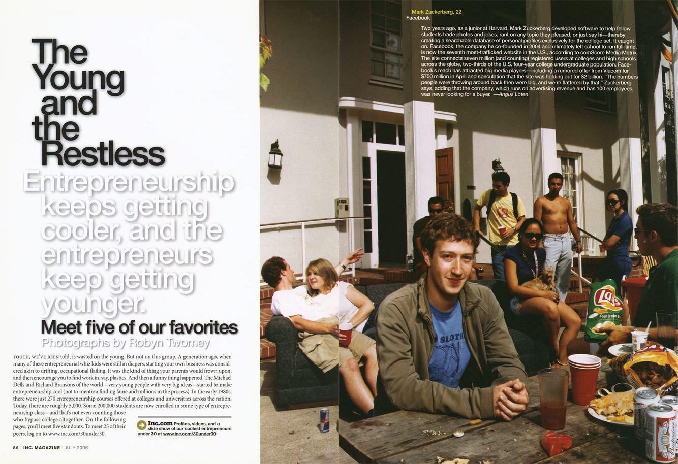 Mark Zuckerberg, Stanford University, Palo Alto, CA