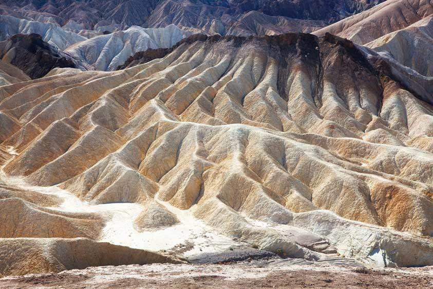 Ridges, Death Valley