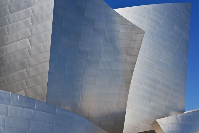 SHAPES IN STEELLOS ANGELES, CALIFORNIAIMAGE # 11680