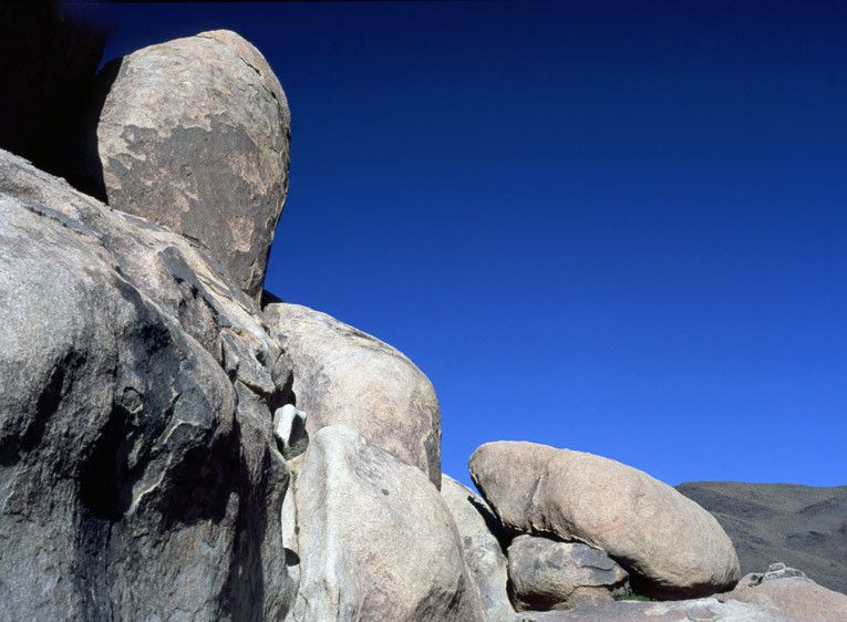 ROCK FORMATIONJOSHUA TREE NATIONAL PARK, CALIFORNIAIMAGE # 11498