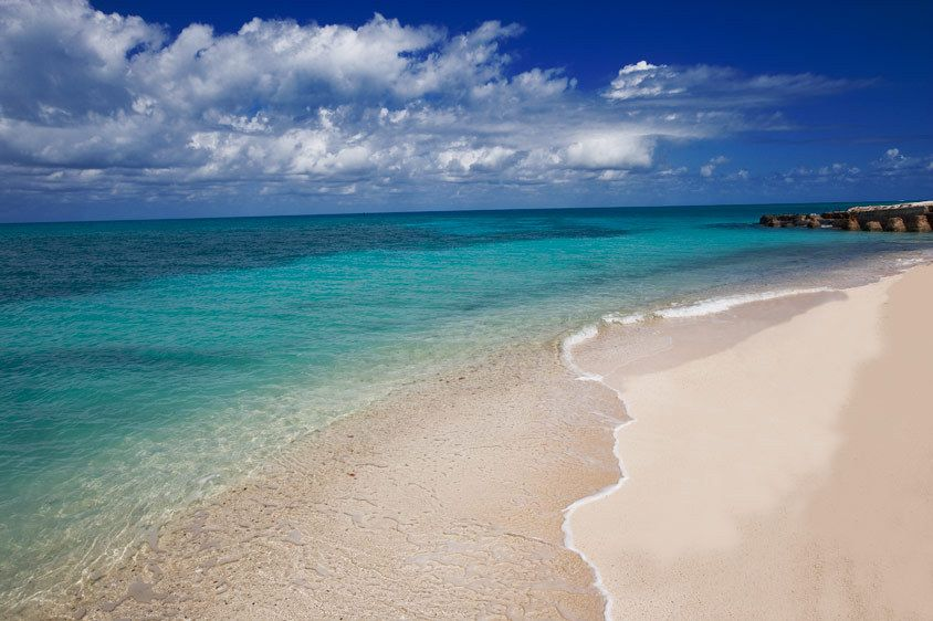 SAND, SURF AND SKYDRY TORTUGAS NATIONAL PARK, FLORIDAIMAGE # 11677
