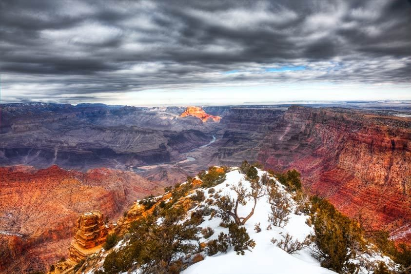 DESERT POINT, SUNRISEGRAND CANYON NATIONAL PARK, ARIZONAIMAGE # 12019