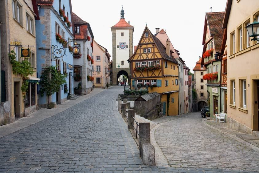 PLONLEIN AND SIEBERS TOWERROTHENBURG OB DER TAUBER, GERMANYIMAGE # 11627