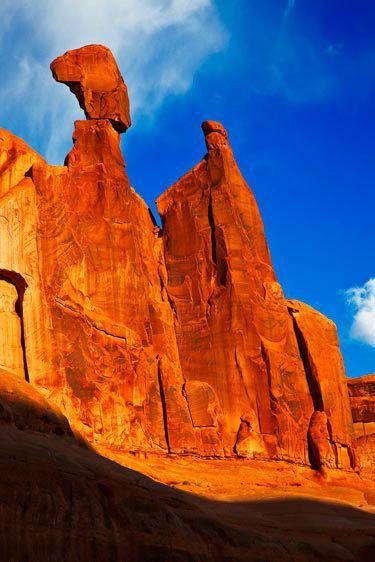 courthousearches national park, utahimage # 11718